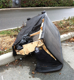 how to recycle my sofa fake fur throws couch removal rid of it vancouver junk service