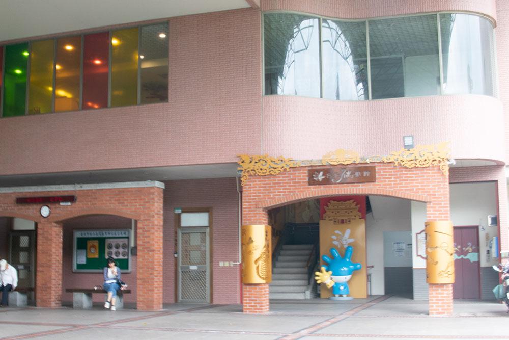 台北偶戯館の入り口