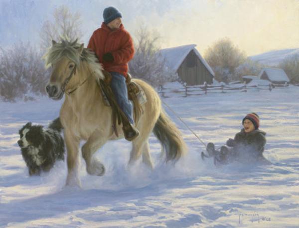 A Wild Ride By Robert Duncan Rieckes Bayside Gallery