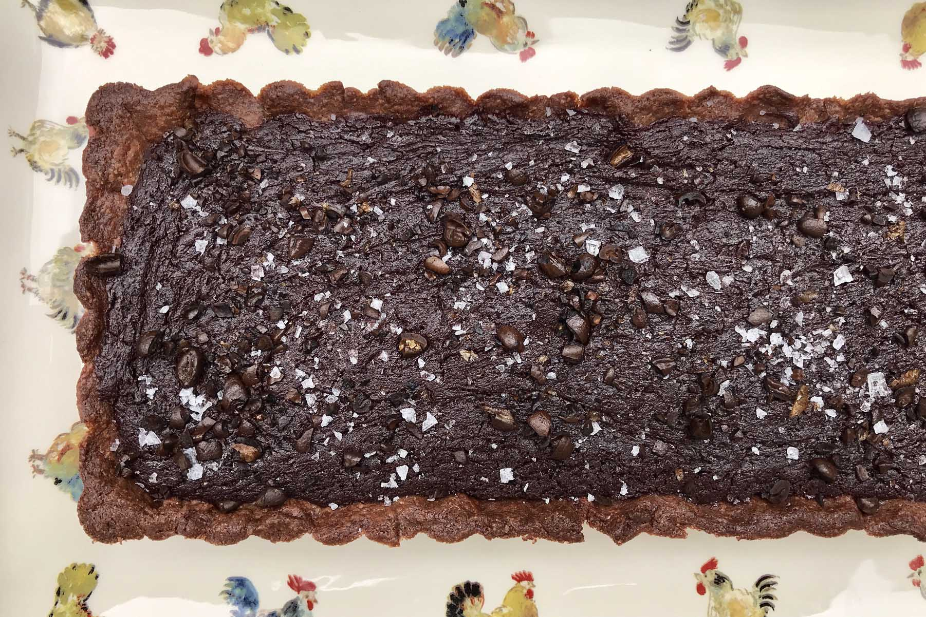 Chocolate Ganache Tart (Gluten-Free)