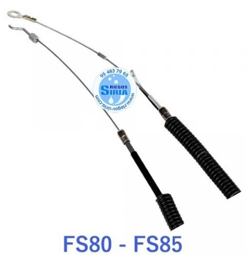 CABLE de ACELERADOR Desbrozadora STIHL FS80 FS85 Antiguo