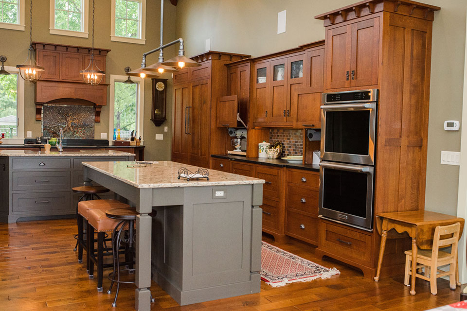 Craftsman Kitchens  Riegsecker Cabinet