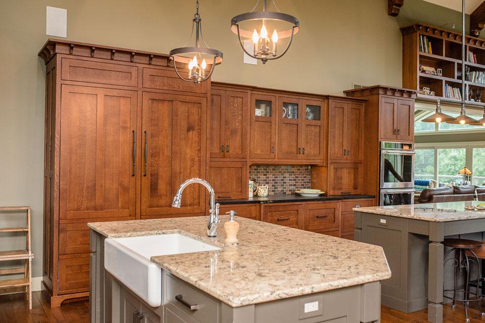 Craftsman Kitchens  Riegsecker Cabinet