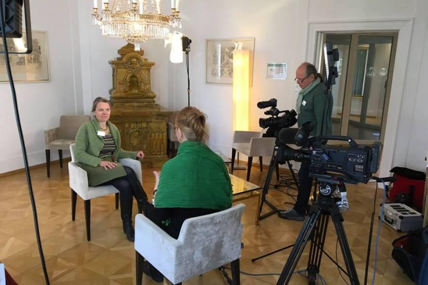 Interview mit Martina Heitkötter in der Evangelischen Akademie Tutzing.