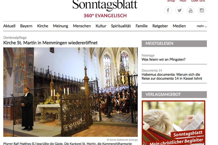Sonntagsblatt 360 Grad Evangelisch