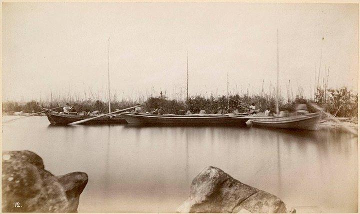 Three York Boats, Swampy Lake, Manitoba