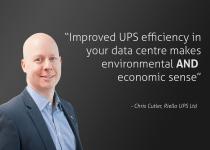 Chris Cutler quote data centre energy efficiency environmental economic sense