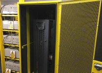 UPS witness test preparation at Riello UPS factory in Wrexham, North Wales
