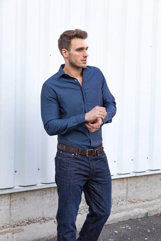Hemden für große Männer - Ärmel 72 cm
