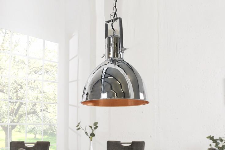 Design Hngelampe FACTORY II chrom 40 cm Industrielampe