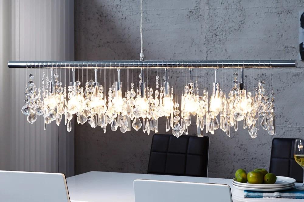Extravagante Hngelampe DIAMONDS XL 120cm Kristall Lampe