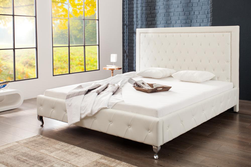 Modernes Designer Doppelbett Holz