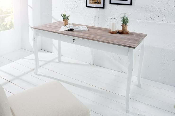 Schreibtisch Weiß Shabby 2021