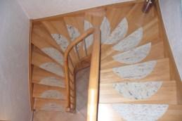 Treppen mit Graniteinlagen 06