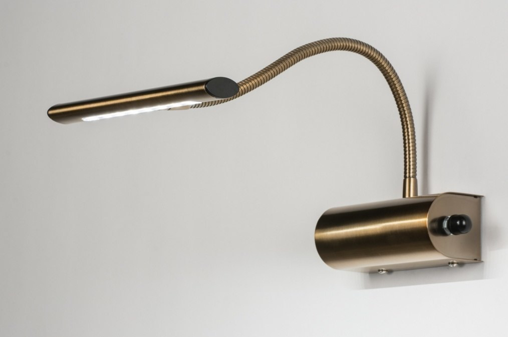 Wandlamp 10105 Modern Klassiek Brons