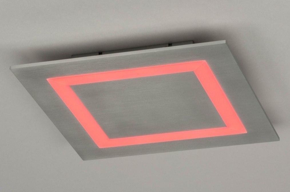 Plafondlamp 12414 Modern Aluminium Metaal Aluminium