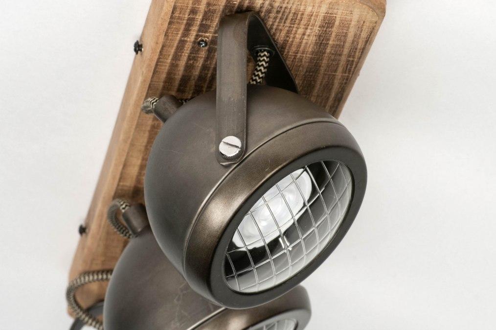 Plafondlamp 12789 Industrie Look Stoer Raw