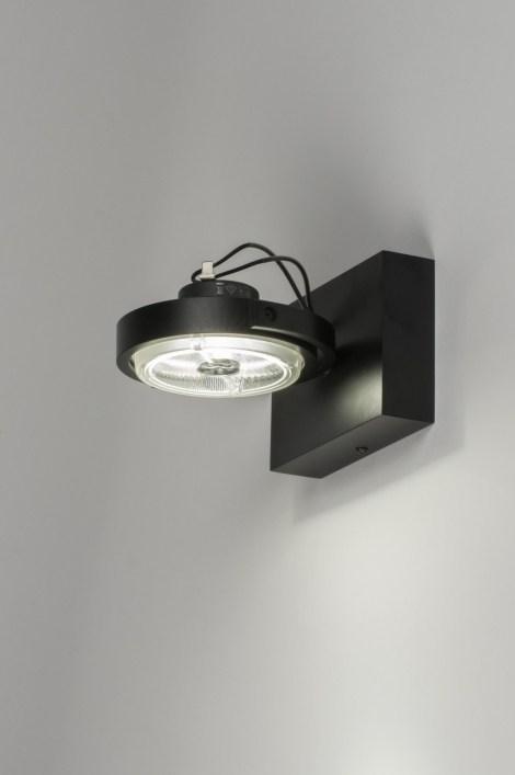 Plafondlamp 30539 Modern Design Aluminium Zwart