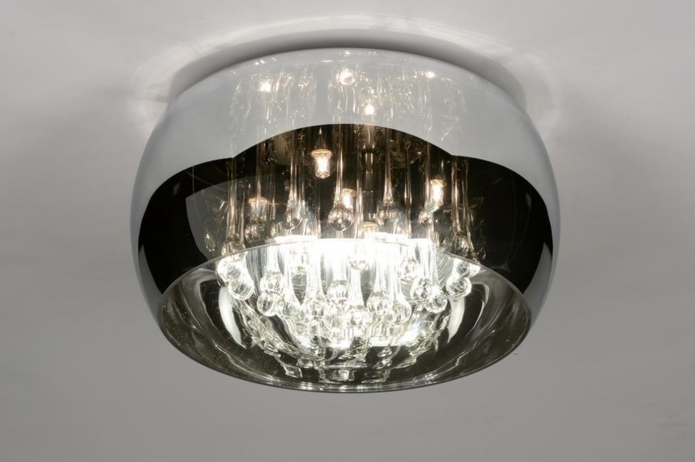 Plafondlamp 30730 Modern Landelijk Rustiek Chroom