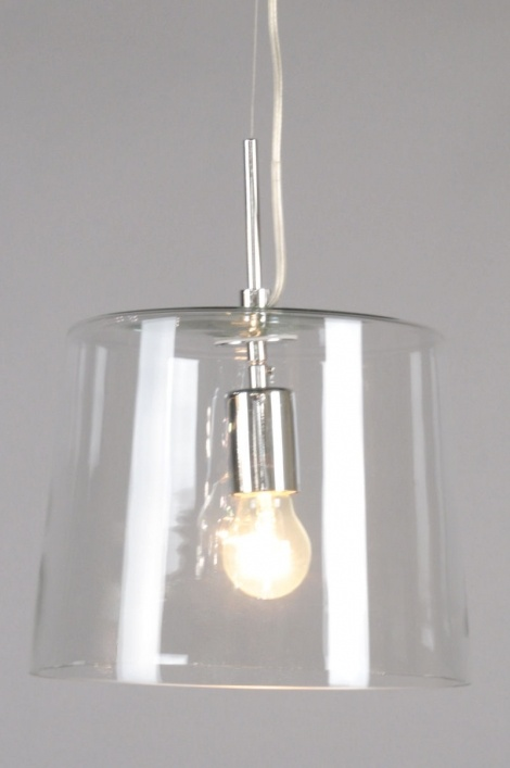Hanglamp 70129 Modern Transparant Kleurloos Glas