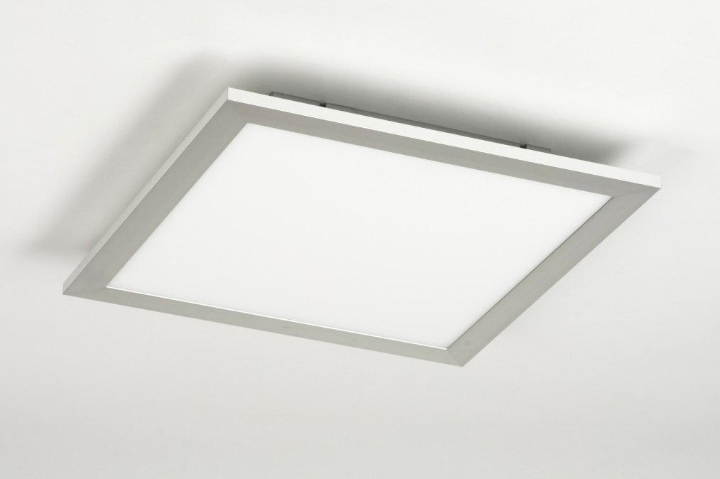 Plafondlamp 72063 Modern Kunststof Staal  Rvs