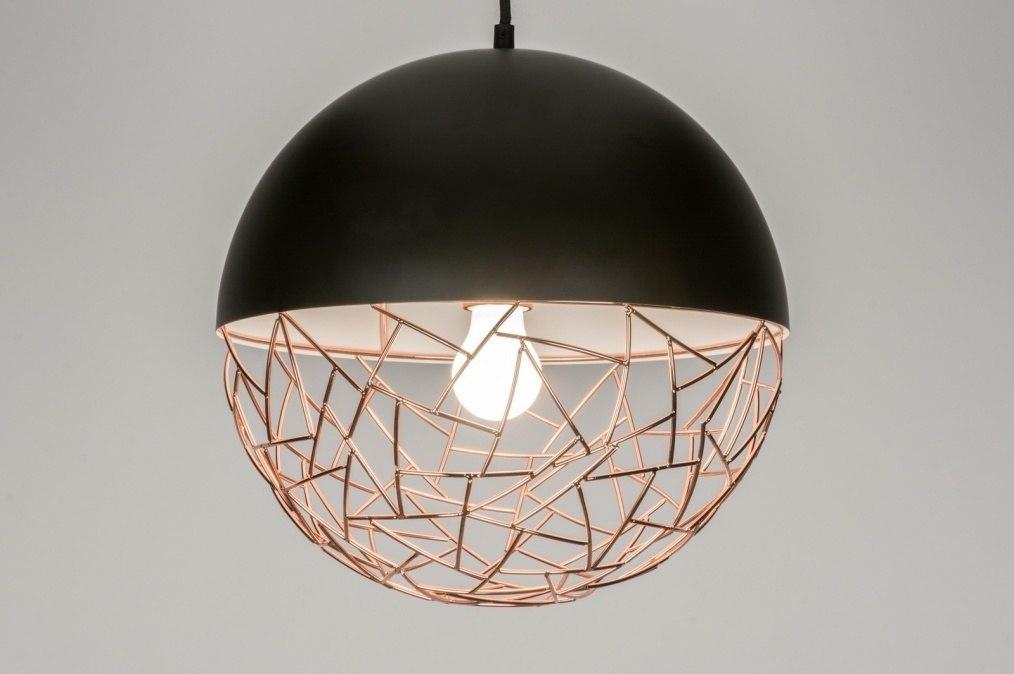 Hanglamp 72230 Modern Zwart Mat Metaal
