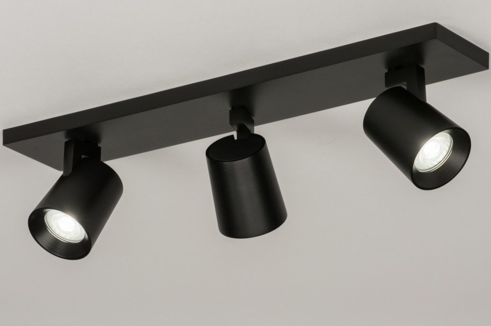 Plafondlamp 72573 Design Modern Aluminium Metaal