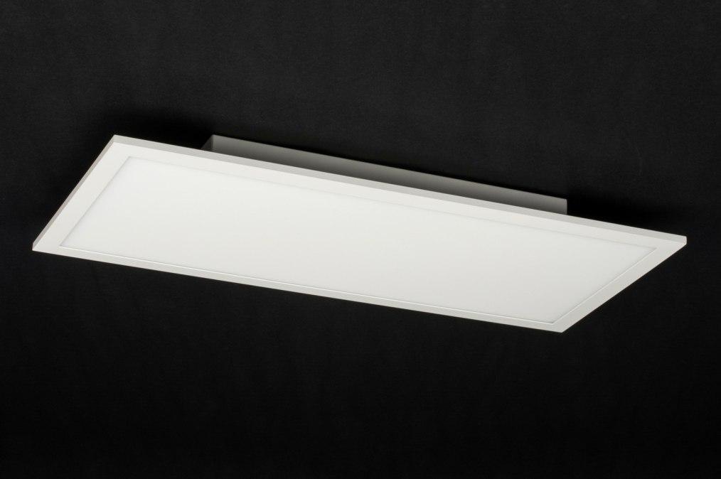 Plafondlamp 72680 Design Modern Aluminium Kunststof