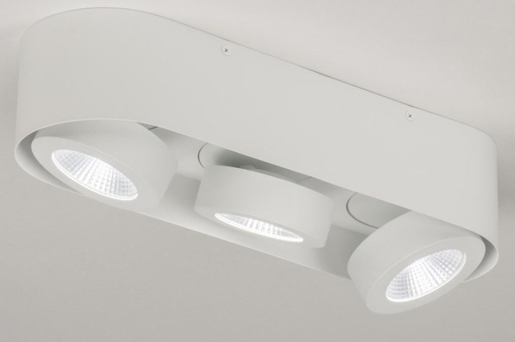 Plafondlamp 72691 Design Modern Aluminium Metaal