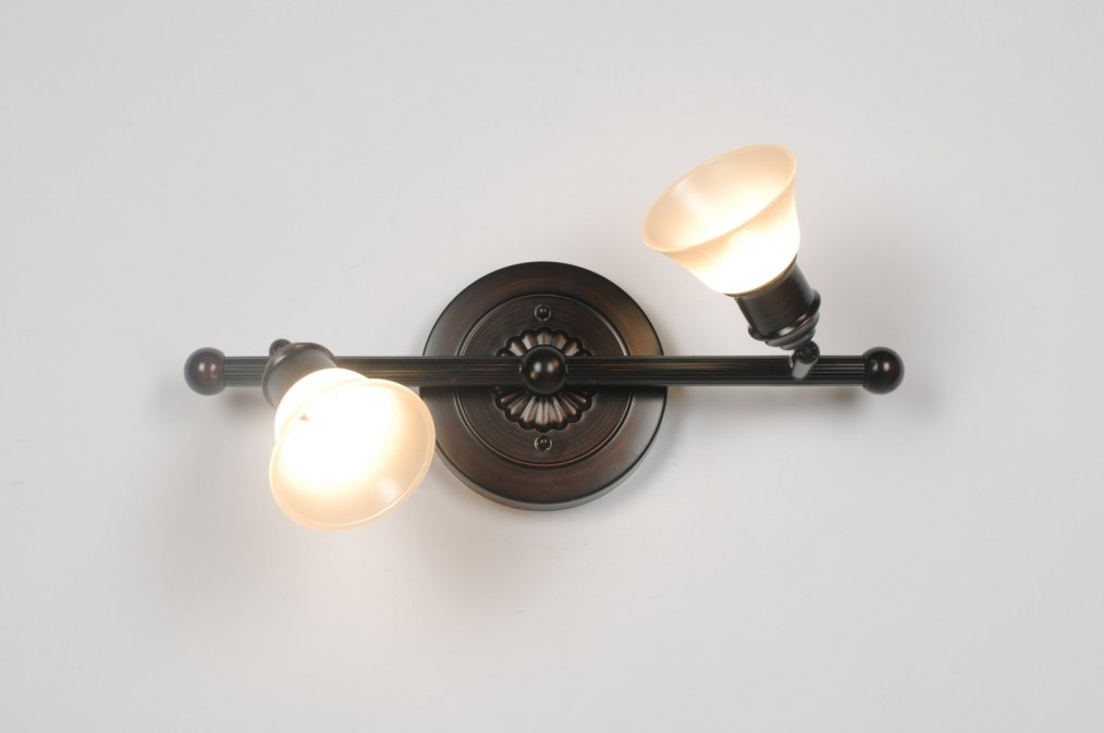 Plafondlamp 83843 Klassiek Brons Roest Bruin Roest Bruin
