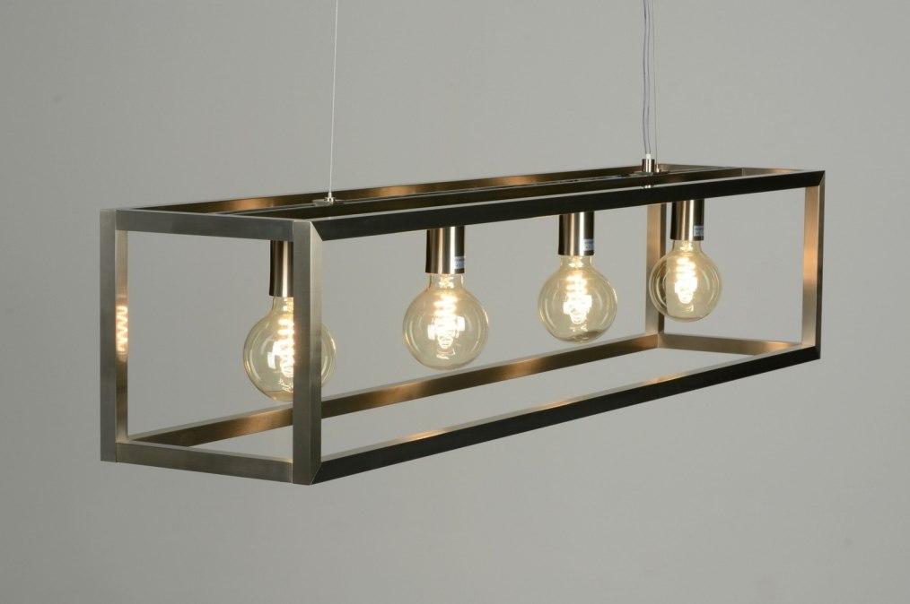 Hanglamp 87313 Sale Modern Design Staalgrijs