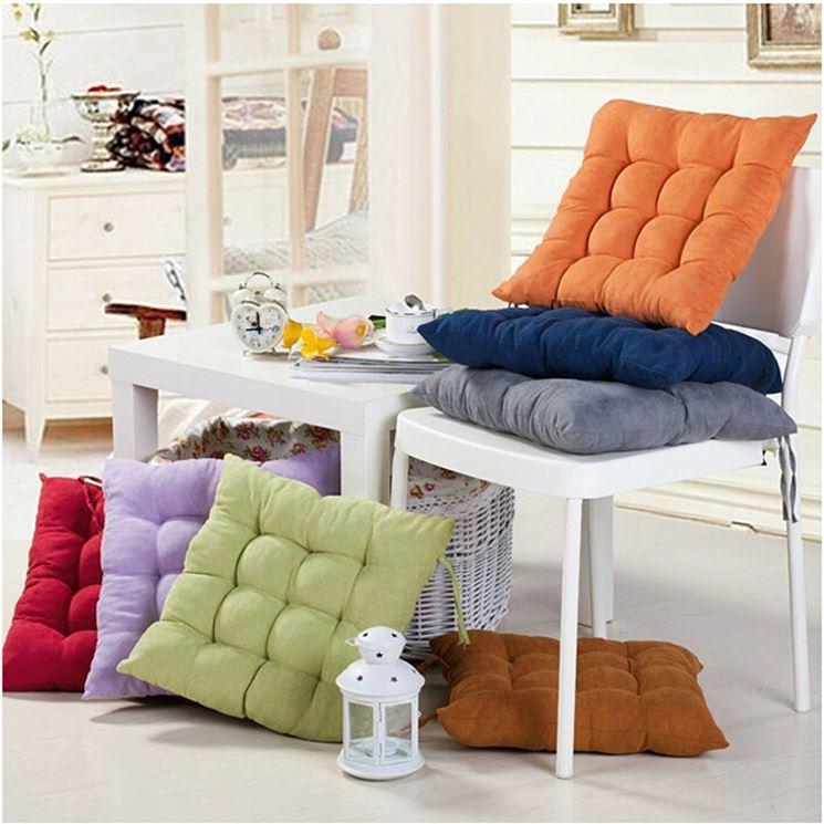 Cuscini per sedie  Arredamento casa  Tipologie di