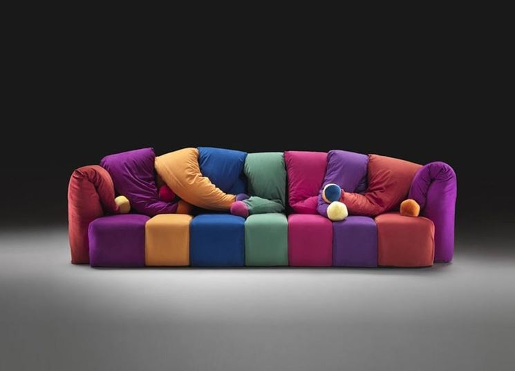 Divani colorati  Divano  Arredare con divani colorati