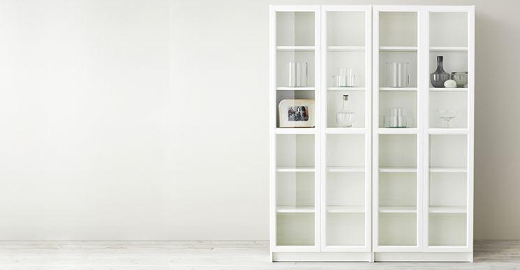 Librerie componibili  Mobili  Tipologie di librerie componibili