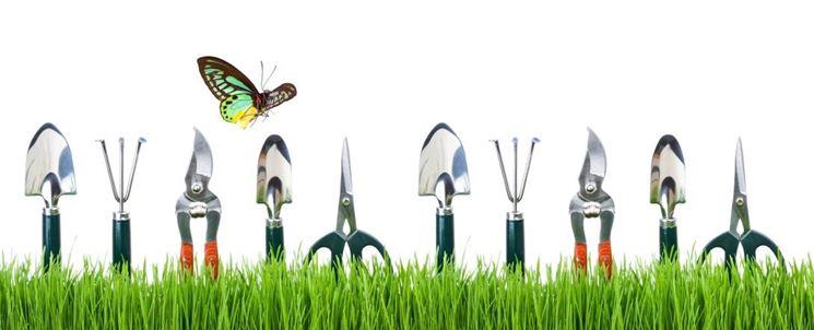Attrezzi per il giardinaggio  Attrezzi da giardino