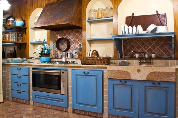 cappe per cucine in muratura  Componenti cucina  La cucina in muratura
