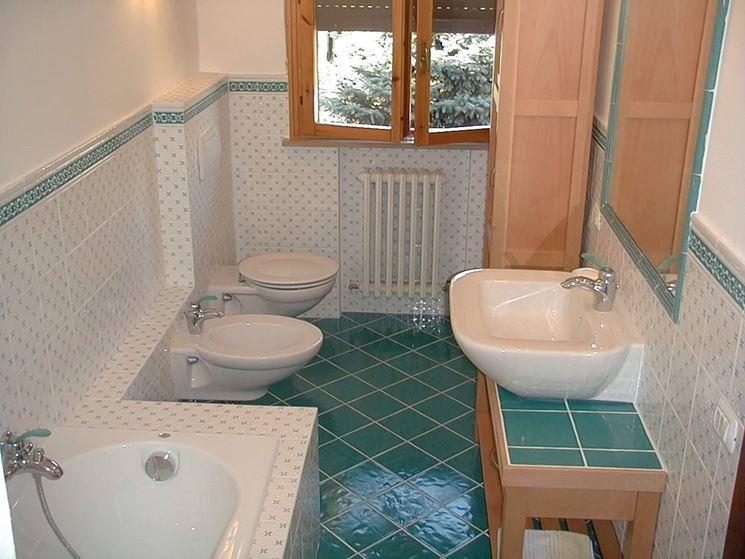 arredare un piccolo bagno  Bagno