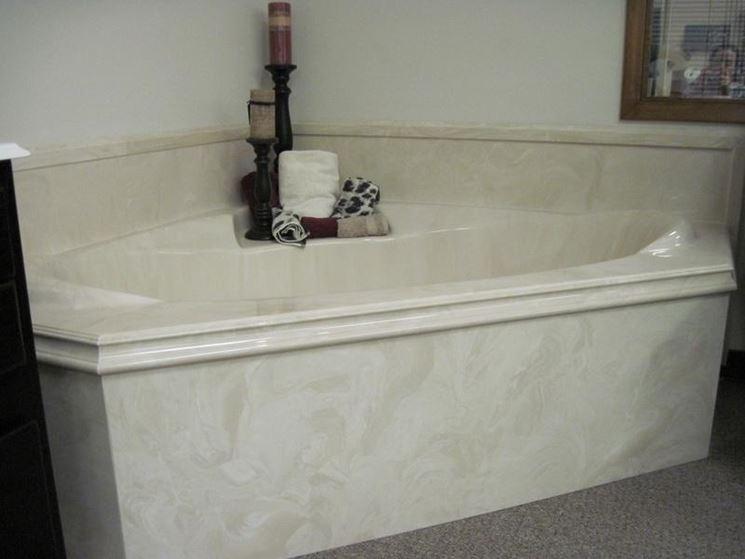 Vasche da bagno in marmo  Bagno  modelli di vasche in marmo