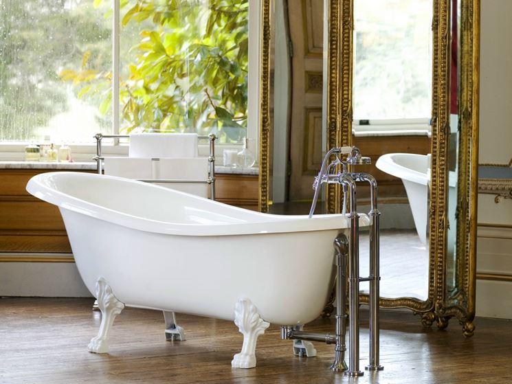 Vasche da bagno retr  Bagno  Vasche da bagno retr belle e intramontabili