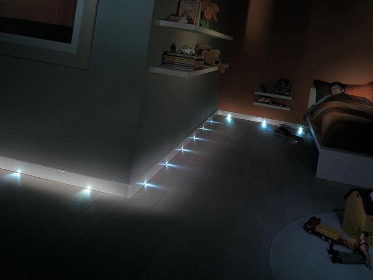 Pavimenti luminosi con fibre ottiche  Costruire una casa