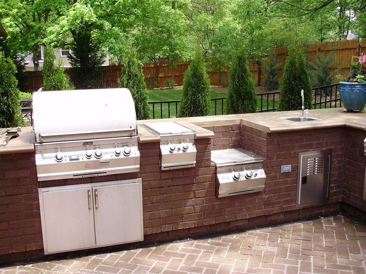 Cucine da esterno  Cucina