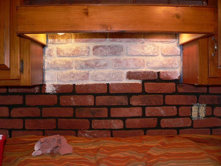 Cucine in finta muratura  Cucina