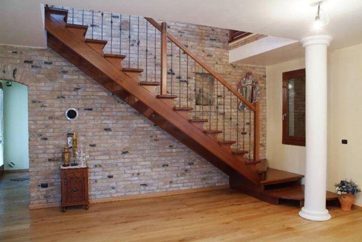 scale a giorno in legno  Scale
