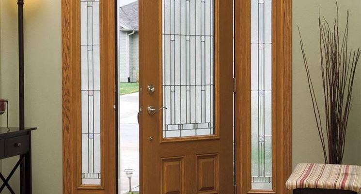 Porte con vetri  Vetro