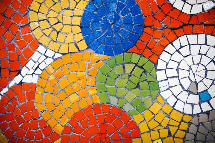 Tessere mosaico fai da te  Mattonelle  Realizzare pavimento con tessere mosaico fai da te