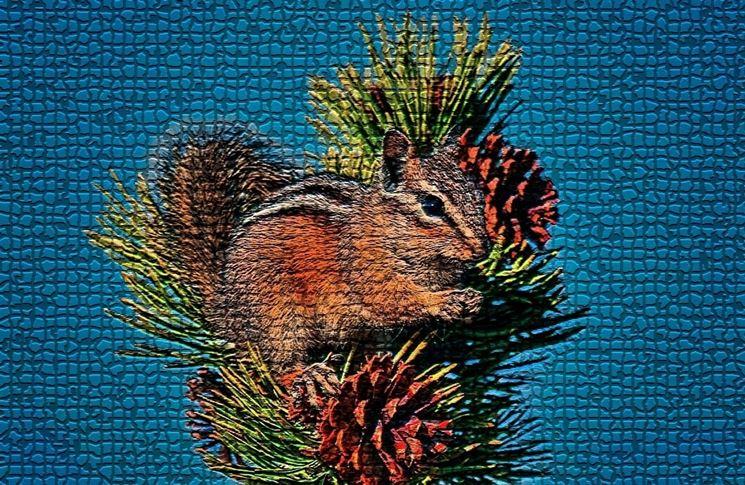 Piastrelle mosaico  Piastrelle
