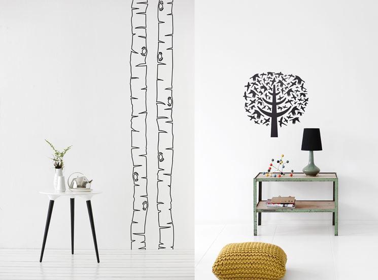Decorazioni per pareti  Pareti divisorie  Come decorare le pareti