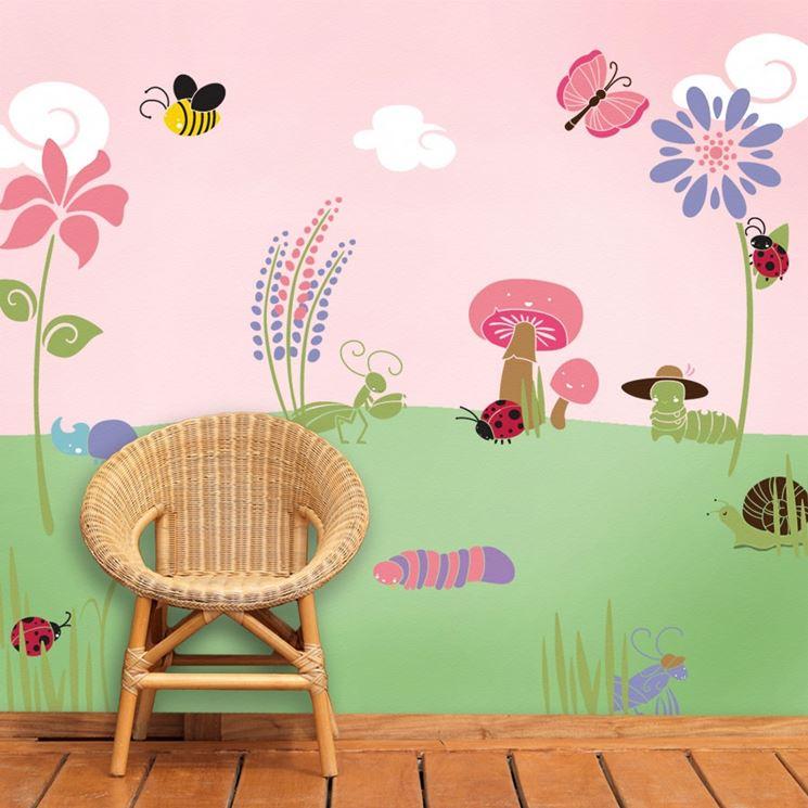 Esistono, infatti, stencil per mobili da stampare e da scaricare in rete. Stencil Da Muro Pareti Decorare Pareti Con Stencil