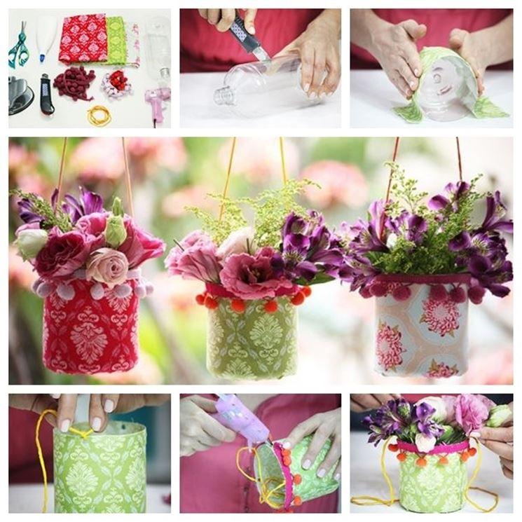 Vasi di plastica  Vasi  Realizzare e decorare vasi di plastica