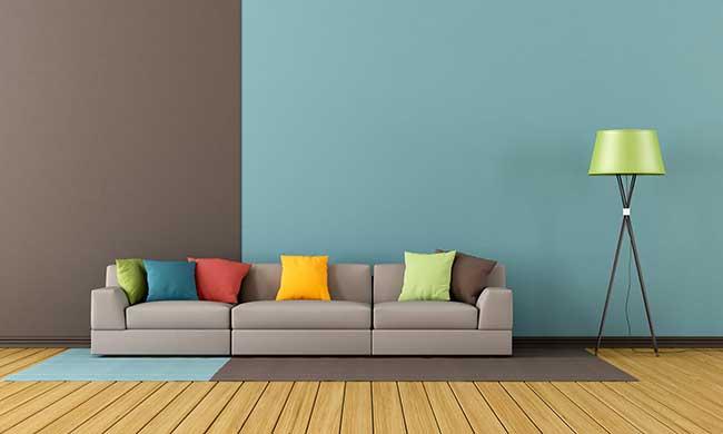 Colore pareti  Come rinnovare casa scegliendo il giusto abbinamento